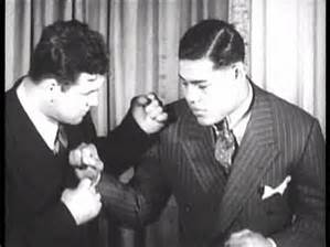 Jim Braddock and Joe Louis