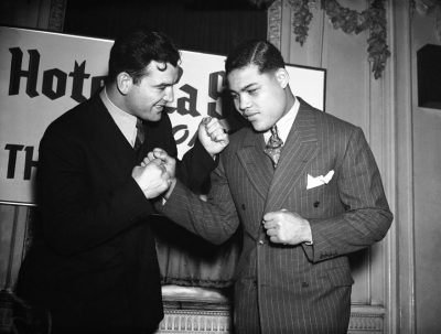 Joe Louis and Jim Braddock