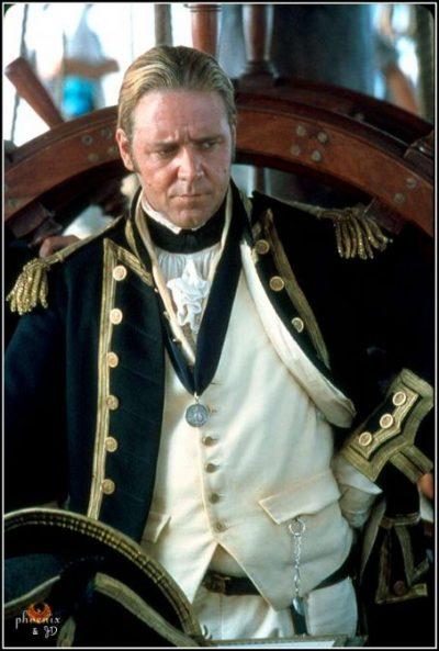 Russell Crowe as Jack Aubrey