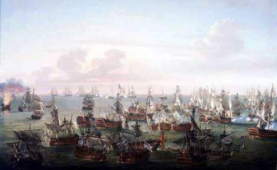 Trafalgar : The end of the battle